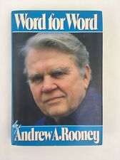 Word for Word by Andrew A. Rooney 1986 Hardcover
