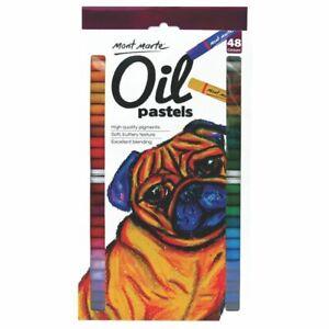 Mont Marte Oil Pastels 48pc