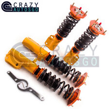 Racing Coilovers 24-Step Adjustable for Toyota Corolla E90-E110 AE92-AE111 88-99