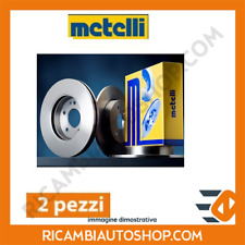2 DISCHI FRENO ANTERIORI METELLI FIAT PANDA (141A) 1000 4X4 KW:32 1986>1989 23-0