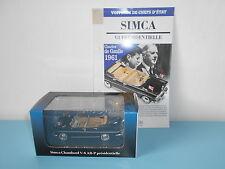 Simca chambord V-8 AB-P Kennedy ATLAS voitures chefs d'état présidentielle 1/43