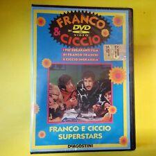 DVD Franco & Ciccio DeAgostini Franco e Ciccio Superstars NUOVO Blisterato