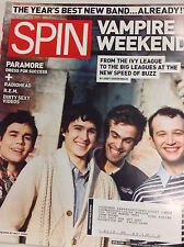 Spin Magazine Vampire Weekend Paramore Stephen Malkmus March 2008 062717nonr