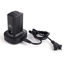 Charging Station Charger Base With 2X 4800mAh Rechargeable Battery For Xbox 360