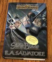 The Silent Blade by R.A. Salvatore SIGNED By Author-SCI-FI FANTASY Hardcover E