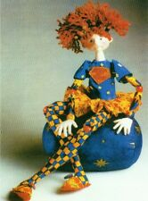 """*NEW* CLOTH ART DOLL (PAPER) PATTERN """"SUPER ZOEY"""" BY JULIE MCCULLOUGH"""