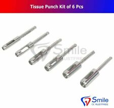 Dental Implant Tissue Punch Kit 6 Pcs set Surgical Surgery Stainless Steel CE