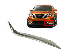 For Nissan Murano Front Bumper Lower Chrome Molding Left Driver side 2015-2018 (Fits: Nissan)