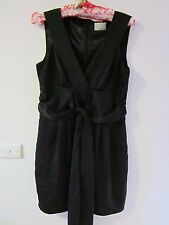 BEAUTIFUL BLACK DRESS BY REVIEW, SIZE 8/10