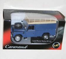 Cararama - LAND ROVER Series III 109 (Blue + Roof Rack) Model Scale 1:43