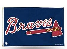 Atlanta Braves MLB 3X5 Indoor Outdoor Banner Flag w/ grommets for hanging
