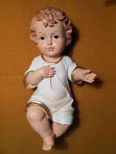 3,2 cm Krippenfigur Christkind Jesuskind mit Hemd Größe ca