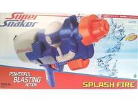 Nerf Super Soaker Splash Feuer Leistungsstark Trockeneisstrahlen Aktion