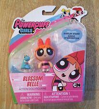 "New Rare Powerpuff Girls 3"" Tall Red Hair Blossom Toy Doll Mini Figure"