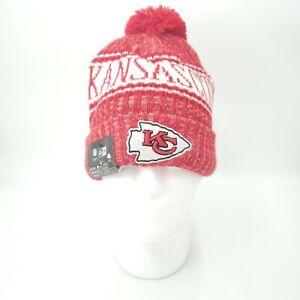 Kansas City Chiefs New Era NFL Sport Knit Pom Beanie Cap Hat New with Tags