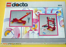 LEGO DACTA Technic Pulleys Mini Set #9614 - New + Bonus & Original Cardboard Box