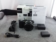 Sony Alpha a5000 Mirrorless Digital Camera with 16-50mm Lens - Black - Used