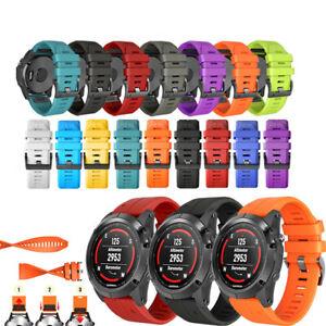 For Garmin Fenix D2 3 5X 5 Plus S60 3HR Watchband Wristband Bracelet Replacement