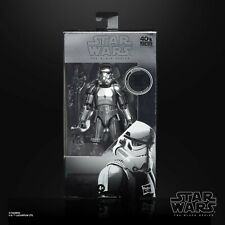 "Star Wars Black Series 6"" Carbonised Stormtrooper"