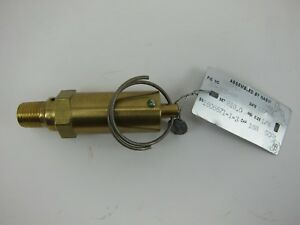 "Kunkle Model 30 Pressure Relief Valve 1/4"" 810 PSI 0030-A01-KM"