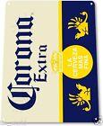 """TIN SIGN """"Corona Extra Beer"""" Cerveza Metal Decor Art Bar Pub Shop Store A310"""