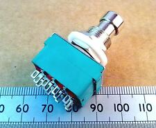 Four Pole Changeover Foot Operated Guitar Effect Pedal Switch, 4PDT Stomp ff