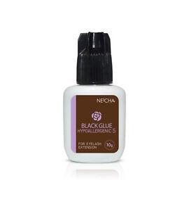 Eyelash Extension Glue Neicha HYPOALLERGENIC S Glue for Sensitive Eyes 3g,5g,10g