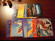 Lot of 30 1985 Hasbro Milton Bradley Transformers Action Cards Numbers Listed