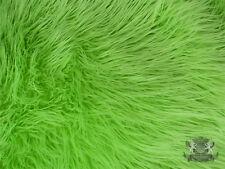 Faux Fur Long Pile MONGOLIAN Fabric / Sold by the yard