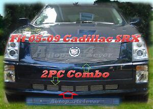 05-09 06 07 08 2008 2009 Cadillac SRX Billet Grille 2PC 2005 2006