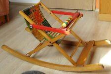nostalgischer Kinder Schaukelstuhl, Kinderwippe, Kindersitz
