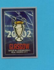 TOPPS-CHAMPIONS 2015-2016-Figurina n.594-FINALE-2002-GLASGOW-NEW