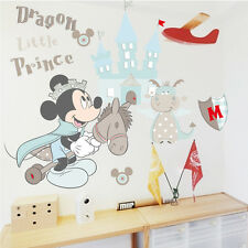 Mickey Mouse Wall Sticker Boys Nursery Removable Vinyl Decal Baby Room Decor Art