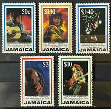 Jamaica Scott #836-840 (Bob Marley 1995) Set of 5 USED