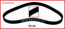 Engine Timing Belt-VIN: J, GAS, SOHC, FI, SFI, Natural, Ford, 8 Valves TB194