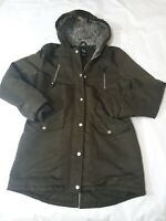 14-15 Years Girls Coat 915 New Look green please read (D)