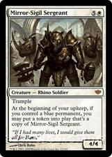 MIRROR-SIGIL SERGEANT Conflux MTG White Creature — Rhino Soldier MYTHIC RARE