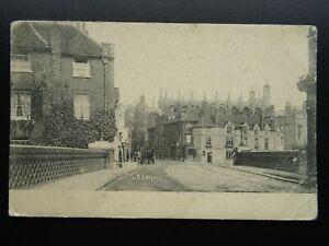 Berkshire Windsor ETON COLLEGE Slough Road Bridge - Old Postcard