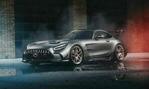 1/18 GT Spirit Mercedes-Amg Gt Black Series Grey Livraison Domicile Novembre