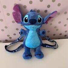 Disney Lilo & Stitch Travel BackPack Bag Rucksack RARE 3D Plush Teddy PRIMARK