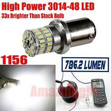 1x 1156 High Power 3014 Chip 48 LED 6000K White Reverse Tail Turn Signal Bulb