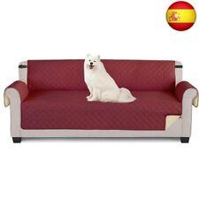 TAOCOCO Funda de sofá Impermeable Funda de cojín de protecci (Rojo, 195*218cm)