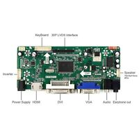 HDM I VGA DVI Audio LCD controller board for lcd panel Only controller board