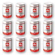 12 x 250g Illy Espresso N Classico 100% Arabica Bohnen normale Röstung Dose rot