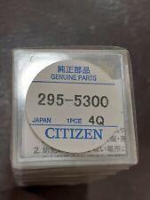 ORIGINALE movimento eco drive Citizen Condensatore BATTERIA 295-53 D600 Sony...