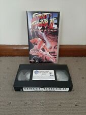 Street Fighter 2 The Animated Movie VHS