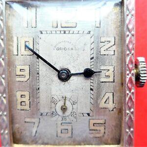 mechan. (Handaufzug) ORIOSA HERREN ARMBANDUHR, Uhrmacherüberholt, gute Funktion