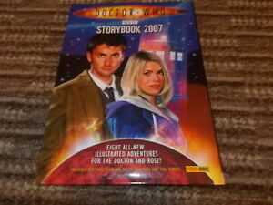 DOCTOR WHO STORYBOOK ANNUAL  2007 SUPERB CONDITION
