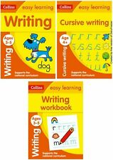 EASY LEARNING WRITING BUNDLE FOR 3-5 YR OLDS KS1 PRE SCHOOL RECEPTION