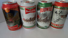 BUDWEISER   HOLIDAY STEIN CANS
